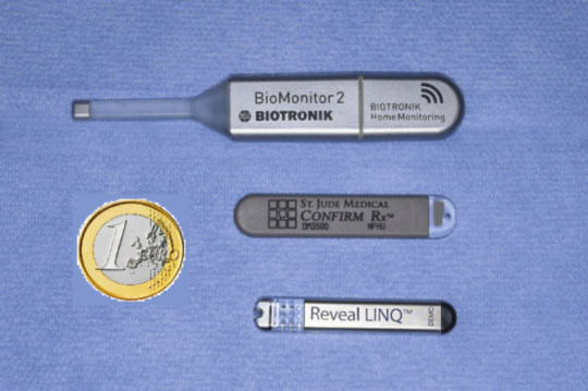 ILR models produced by three different companies are currently available (Biotronic, Medtronic, Saint Jude Medical)